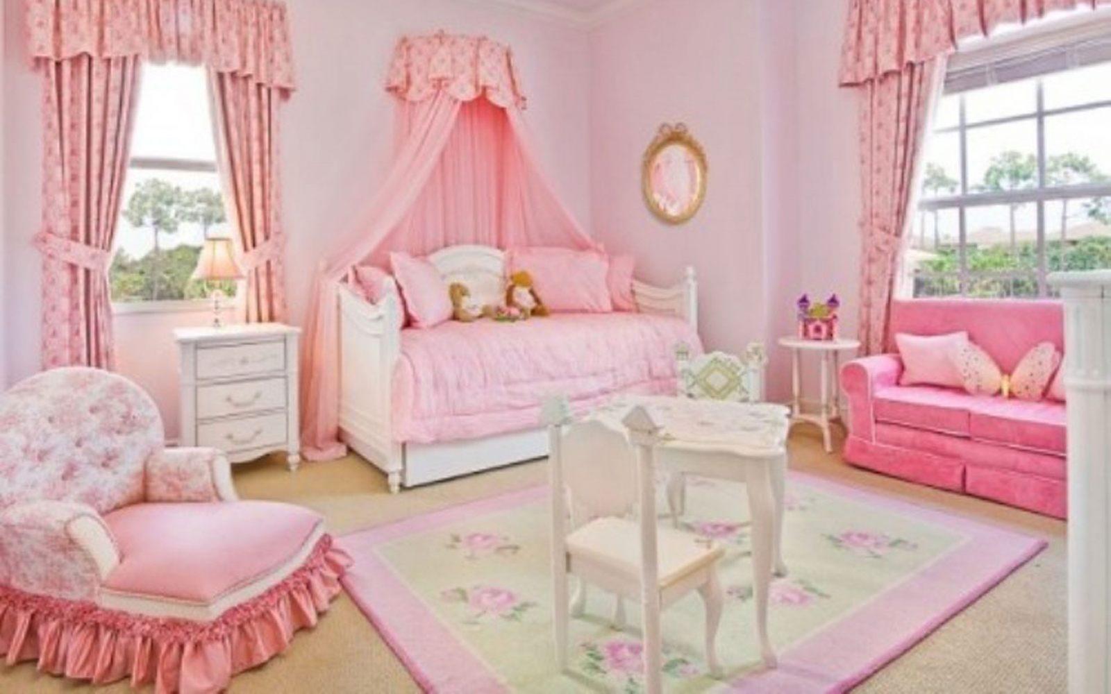 Colores rosas para una habitaci n de ni a im genes y fotos for Dormitorios para ninas