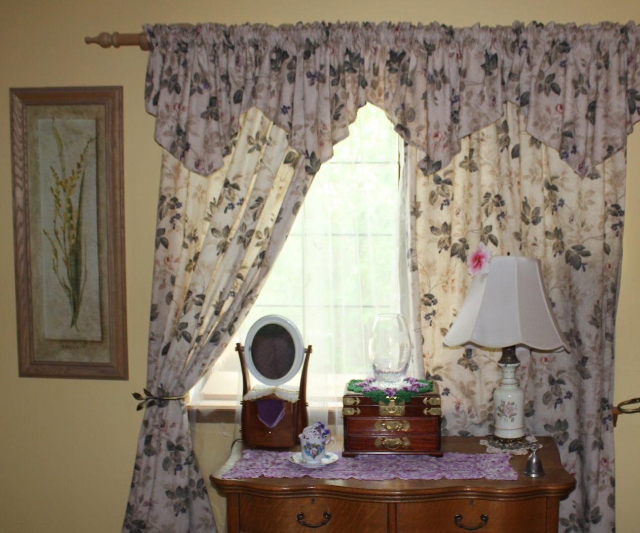 Cortinas con estampados im genes y fotos - Telas estampadas para cortinas ...
