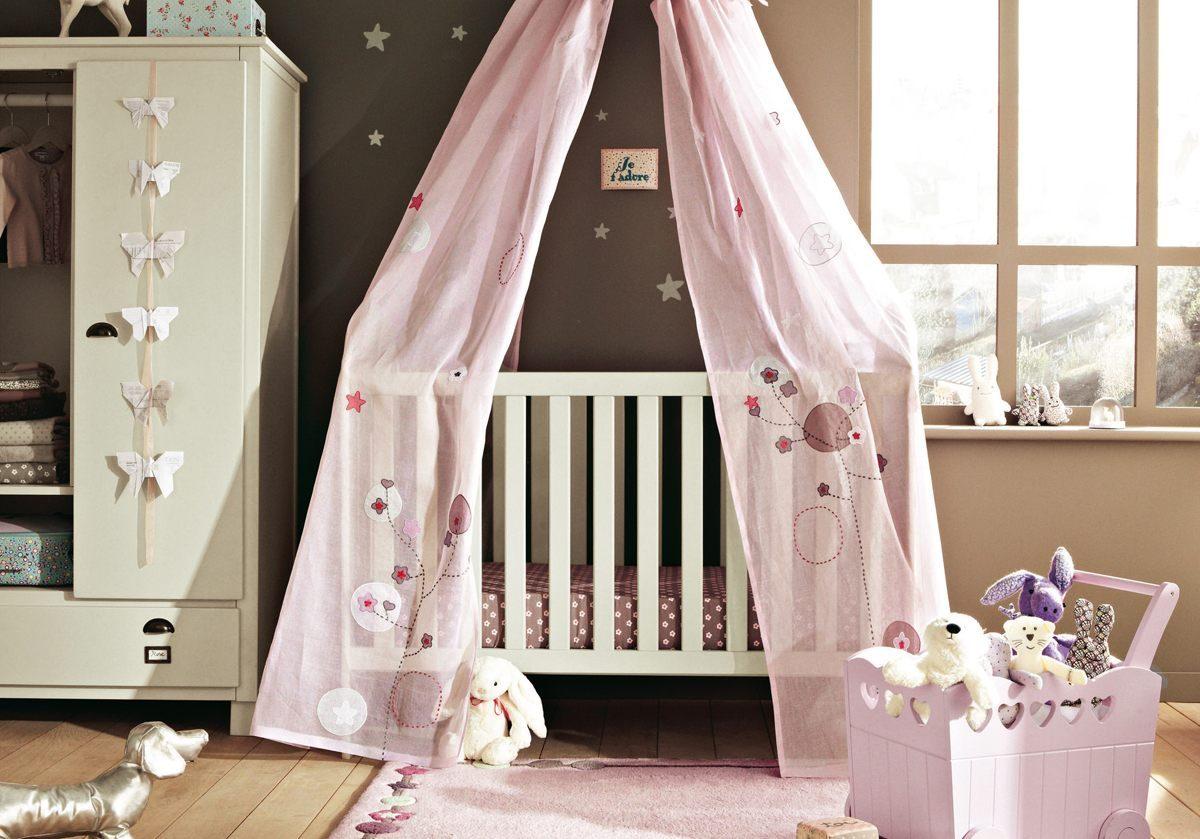 cuna en la habitacin del beb - Habitaciones De Bebe Originales