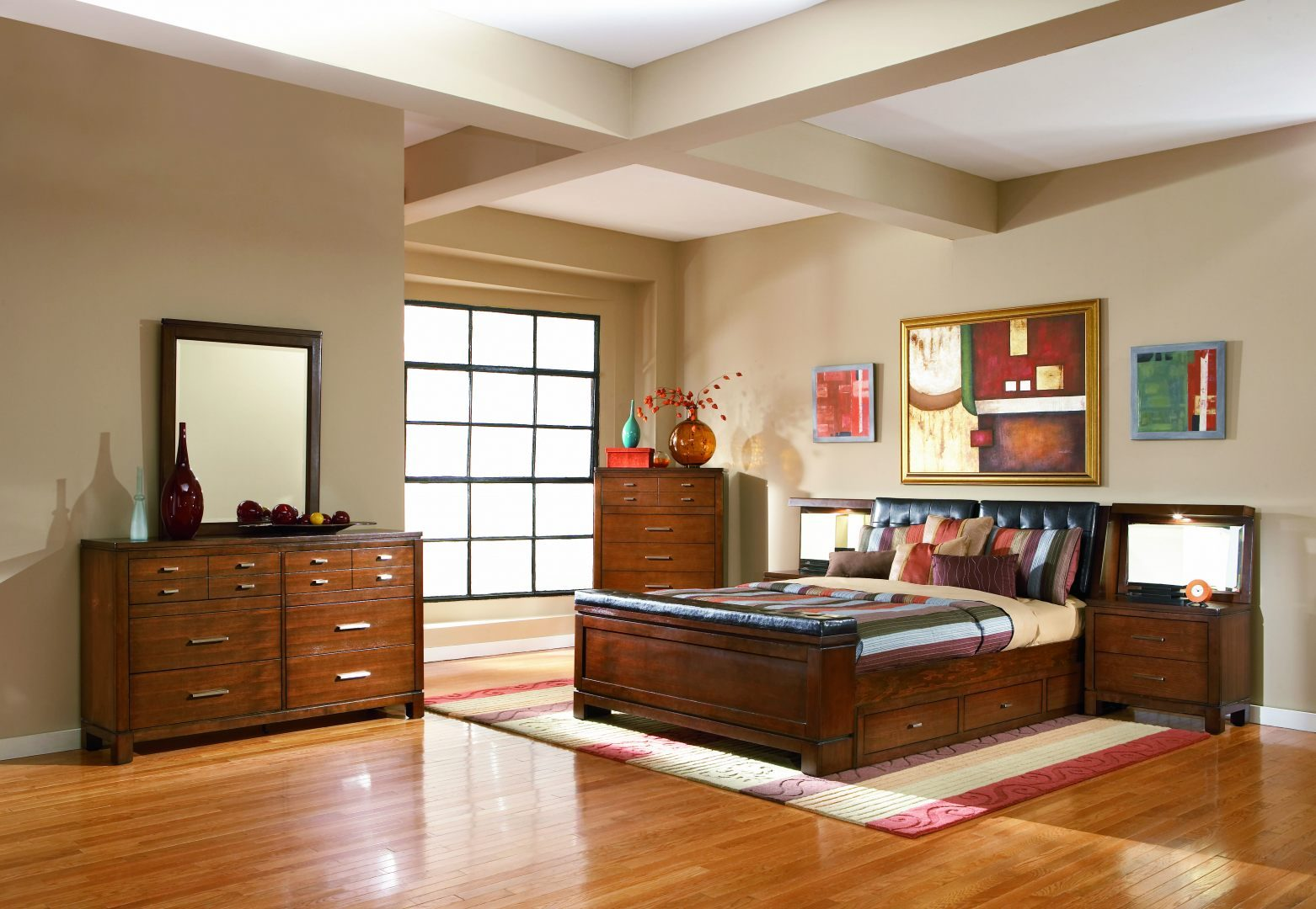 Decorar un dormitorio im genes y fotos - Como amueblar un dormitorio juvenil pequeno ...