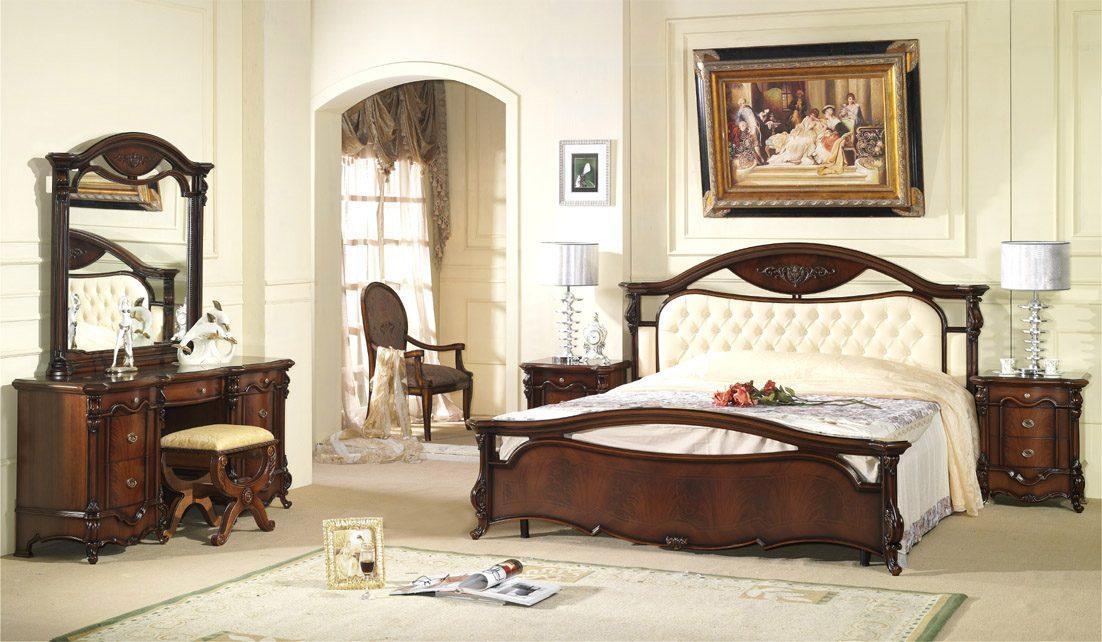 Dormitorio de matrimonio cl sico im genes y fotos - Chambre a coucher moderne alger ...