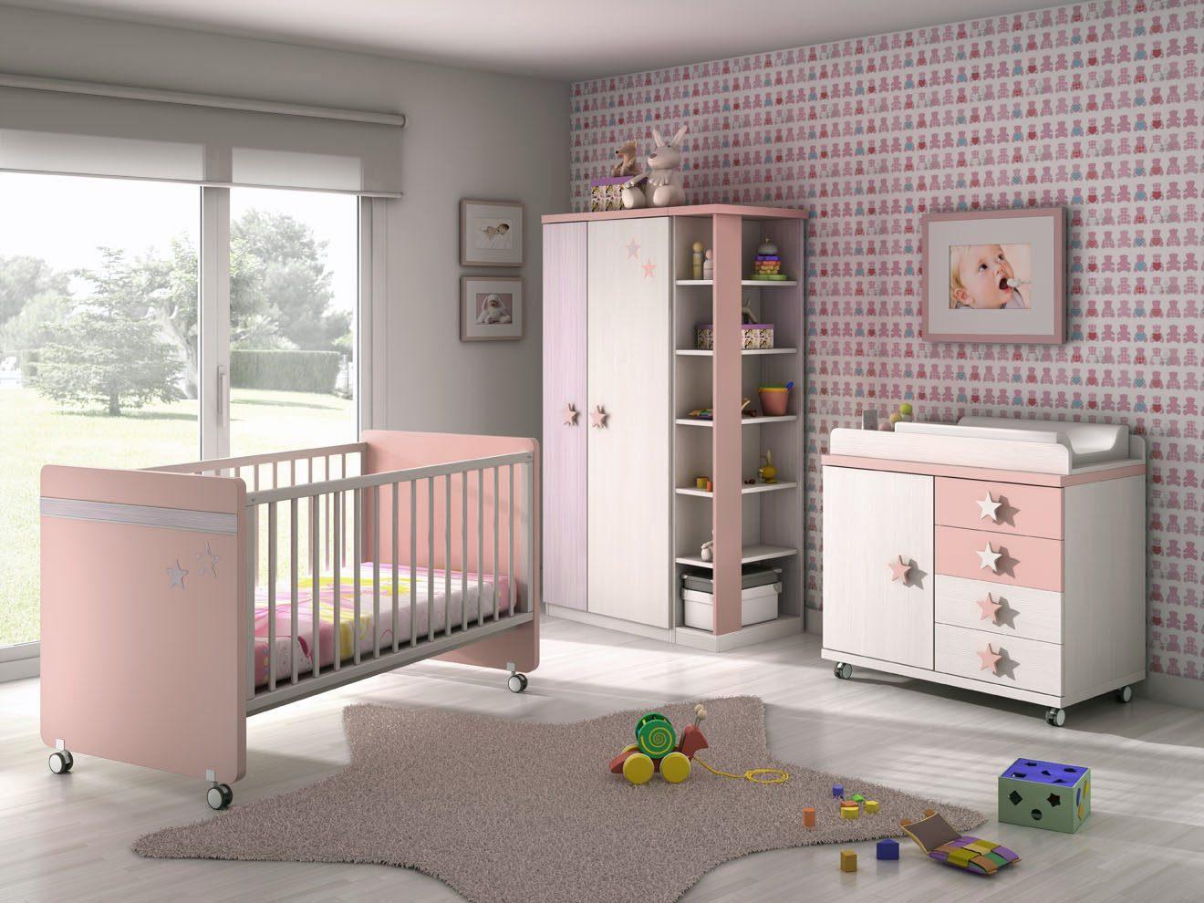 Habitaciones de beb s for Dormitorios para ninas