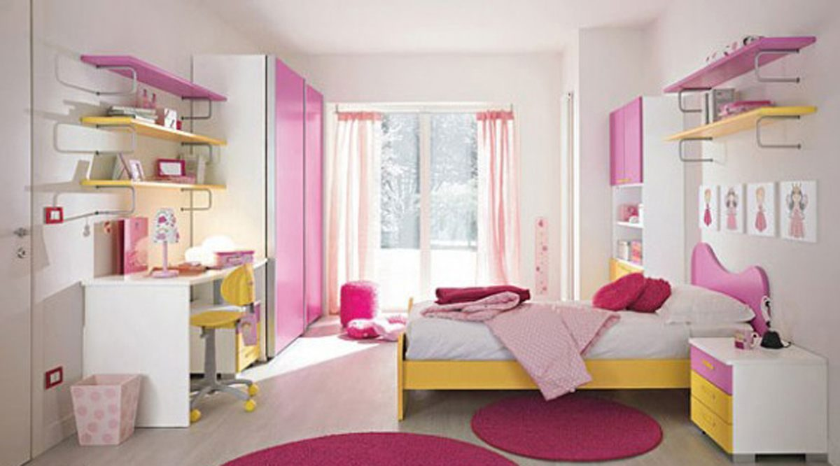 7 Inspiring Kid Room Color Options For Your Little Ones: Habitaciones De Niñas