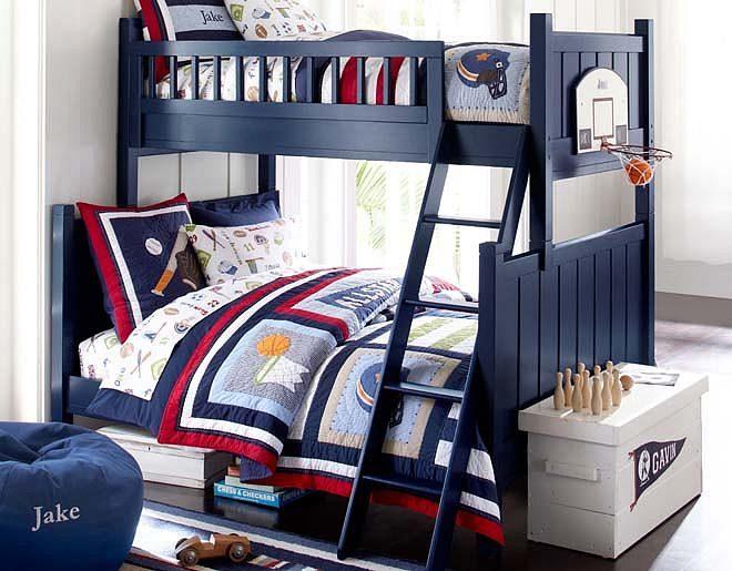 Habitaciones infantiles originales azules im genes y fotos - Dormitorios infantiles originales ...