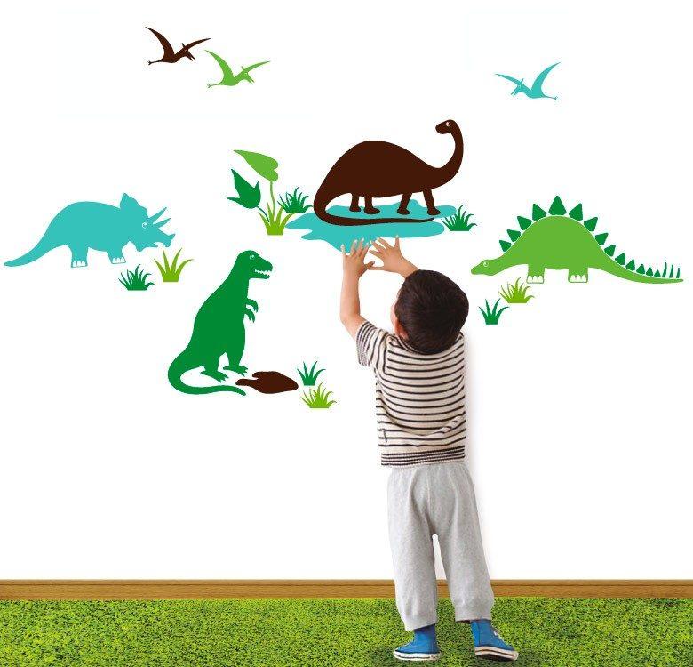 Habitaciones infantiles originales de dinosaurios - Dibujos infantiles originales ...