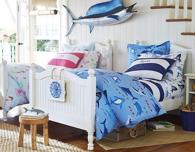 Habitaciones infantiles originales marinas im genes y fotos - Dormitorios infantiles originales ...