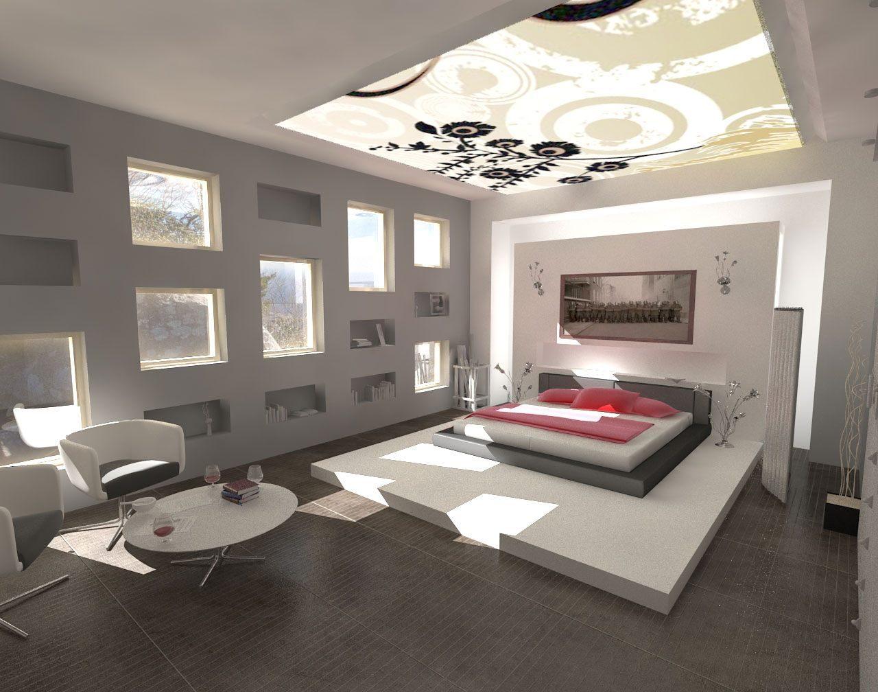Galer a de im genes decoraci n de habitaciones modernas - Habitaciones decoracion moderna ...