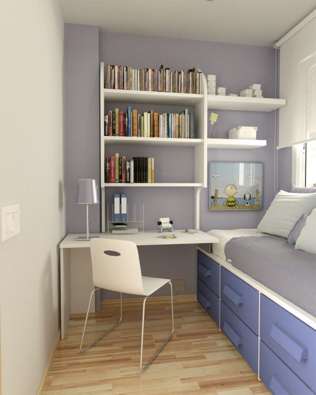 New Home Designs Latest Homes Interior Designs Studyrooms: Habitaciones Pequeñas :: Imágenes Y Fotos