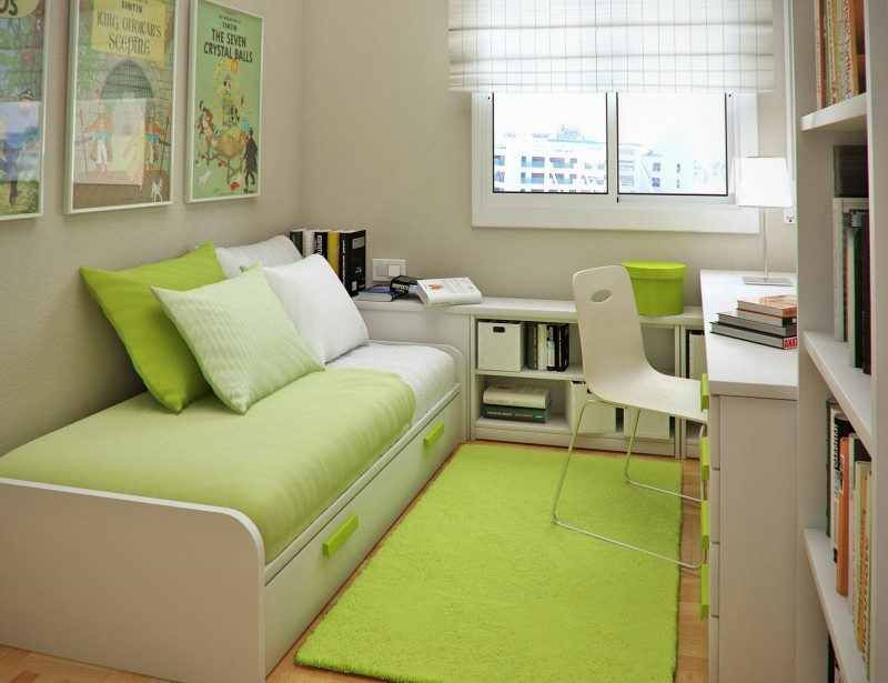 Ideas para habitaciones peque as im genes y fotos - Habitaciones de ninos pequenas ...