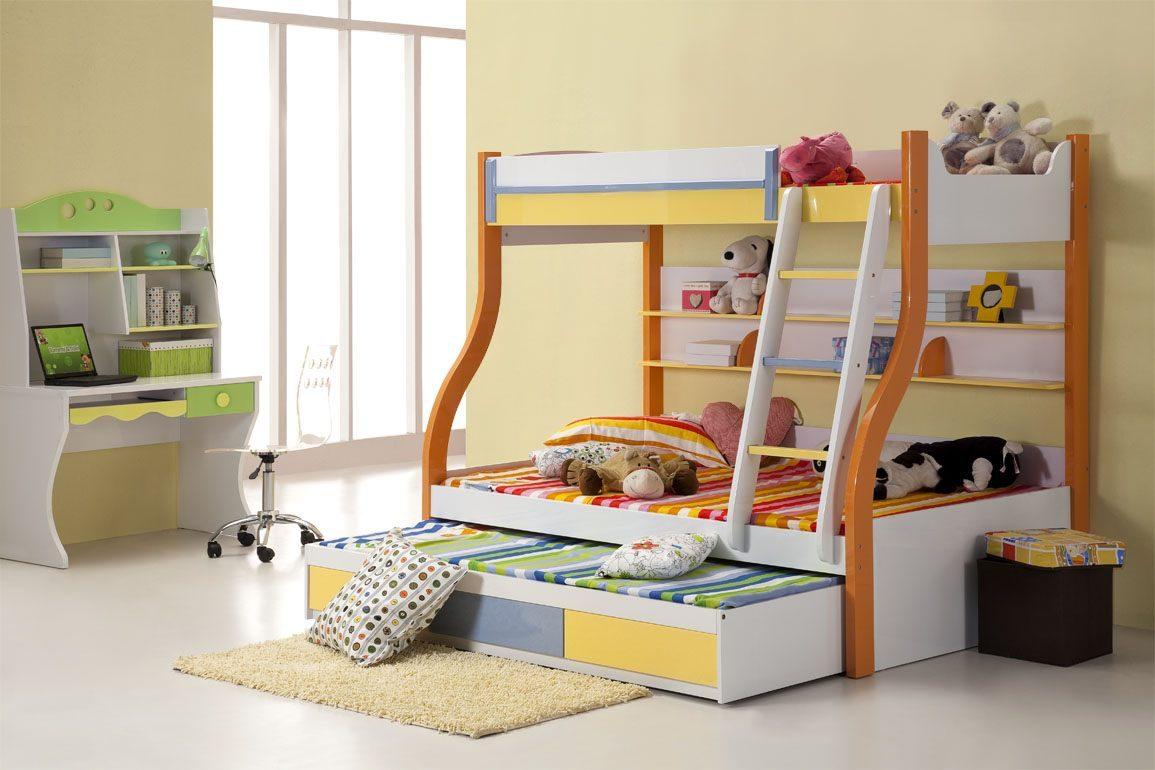 Galer a de im genes literas para habitaciones infantiles for Cuartos para ninas literas