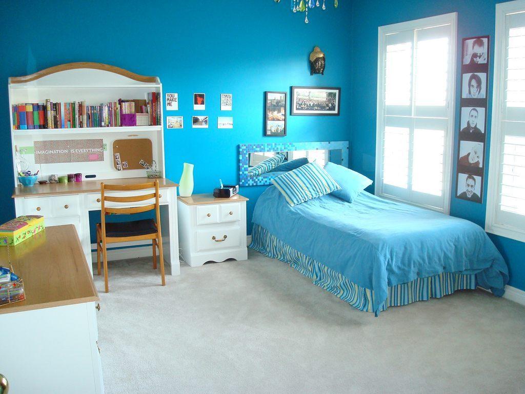 Mobiliario en la habitacin de un adolescente Imgenes y fotos