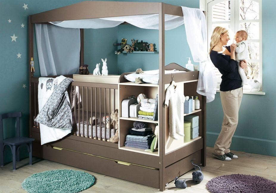 Mueble para la habitaci n del beb con cuna im genes y - Muebles para habitacion de bebe ...