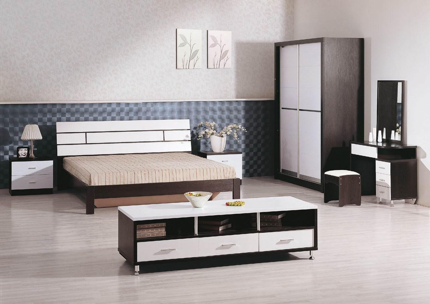Muebles modernos para dormitorios im genes y fotos for Mesas para muebles modernas