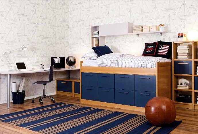 Muebles para habitaciones de adolescentes asoral - Habitaciones originales para ninos ...