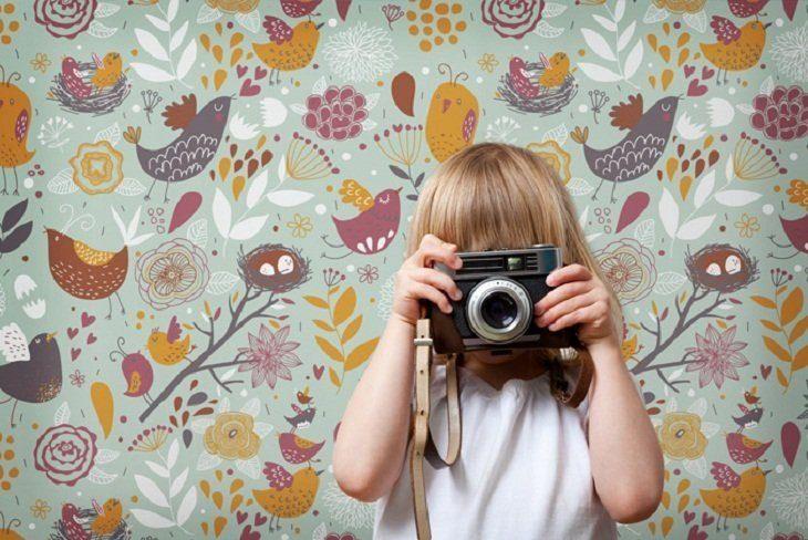 Galer a de im genes papeles pintados para habitaciones - Papeles pintados bebe ...