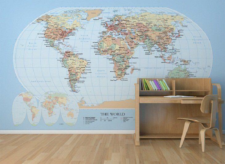 Galer a de im genes papeles pintados para habitaciones - Papeles pintados para muebles ...