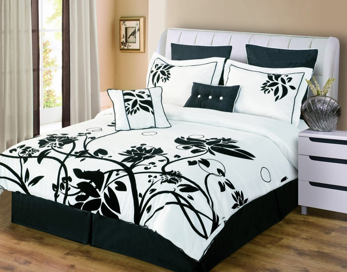pink white and black bedroom galer 237 a de im 225 genes ropa de cama 19489