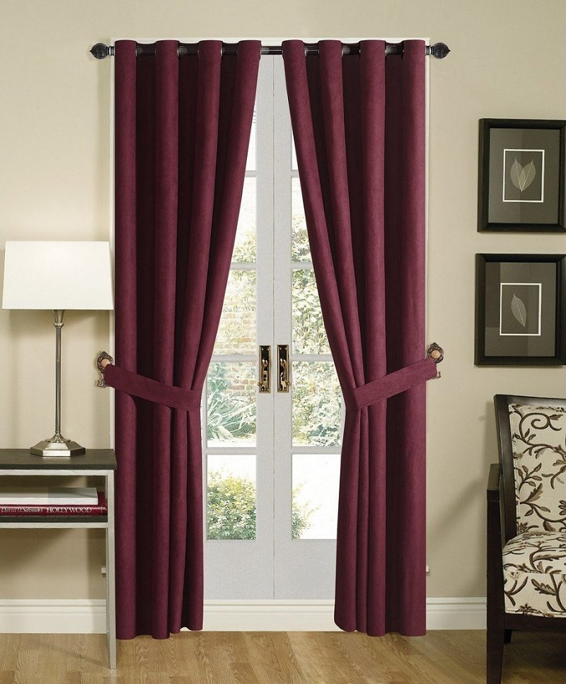 Telas para cortinas de habitaci n im genes y fotos for Cortinas dobles para dormitorios